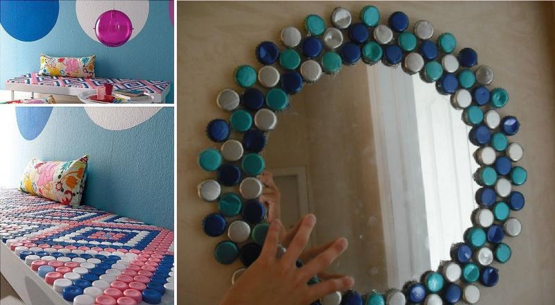 Creare oggetti con i tappi di plastica il fai da te for Piani casa semplice da costruire