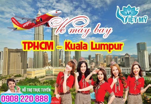 Vé máy bay TPHCM đi Kuala Lumpur tháng 9