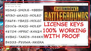 license key for pubg crack