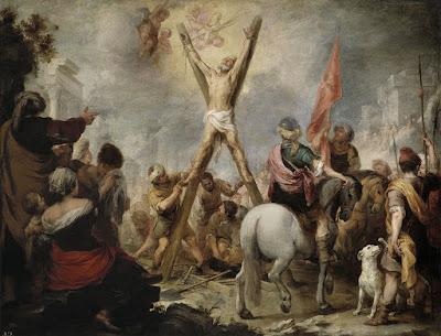El martirio de San Andrés, por Bartolomé Esteban Murillo, siglo XVII, Museo del Prado