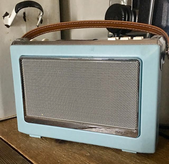 digital radio in kitchen