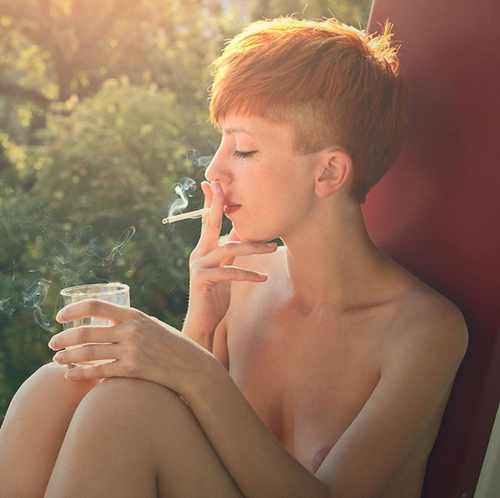 Can your hair grow back thicker after you quit smoking and ...