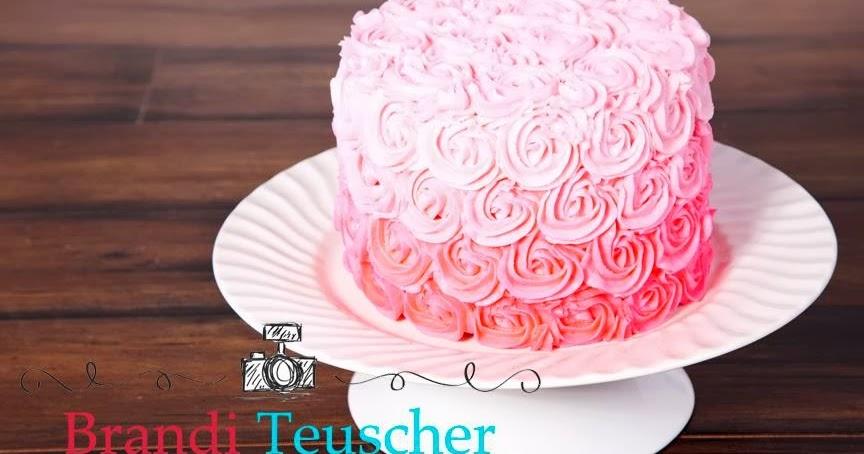 Delectable Cakes Rose Swirl 1st Birthday Smash Cake
