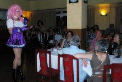 espectáculo drag queen en Guadalajara con Gabrielle