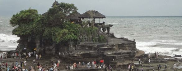 Tanah Lot Bali Hindu Sea Temple - Bali, Hindu, Sea Temple, Sunset, Holy place, Sacred area, Tanah Lot, Beraban, Kediri, Tabanan