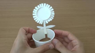 cara membuat kerajinan tangan dari gelas plastik