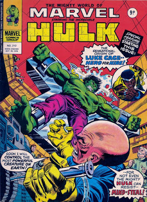 Mighty World of Marvel #212, The Hulk vs the Gremlin