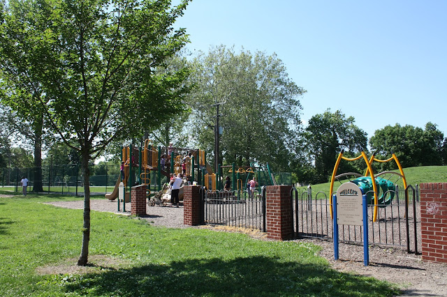 Schiller Park in German Village Columbus, Ohio is the perfect place for kids to play.
