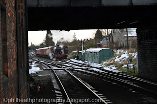 Winter Steam Gala, Great Central Railway Loughborough - January 2013