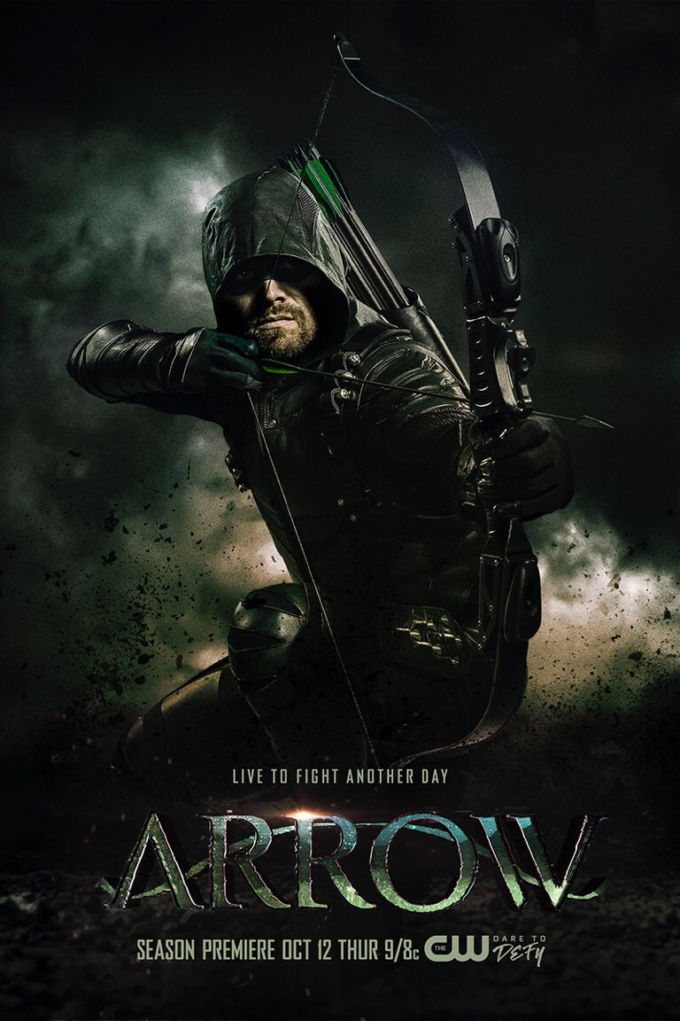 Arrow season 6 poster