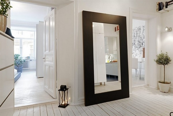 Mirrors are great way to bounce light around a room