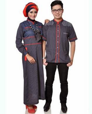 Baju muslim couple trendy untuk pasangan muda