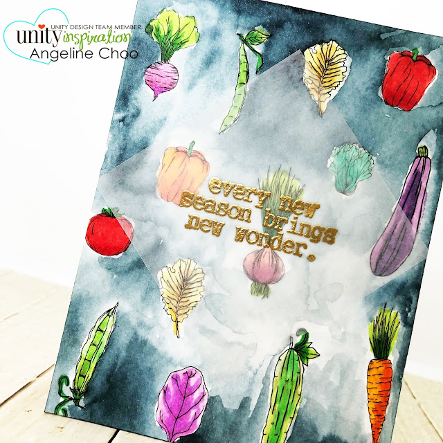 ScrappyScrappy: [NEW VIDEOS] Summer release with Unity Stamp - Hope this grows #scrappyscrappy #unitystampco #quicktipvideo #youtube #gardenvegetables #vegetablegarden #nuvoshimmerpowder #colorburst #watercolor #copicmarkers