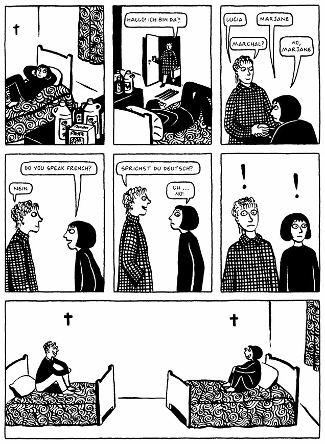 Read Chapter 1 - The Soup, page 7, from Marjane Satrapi's Persepolis 2 - The Story of a Return