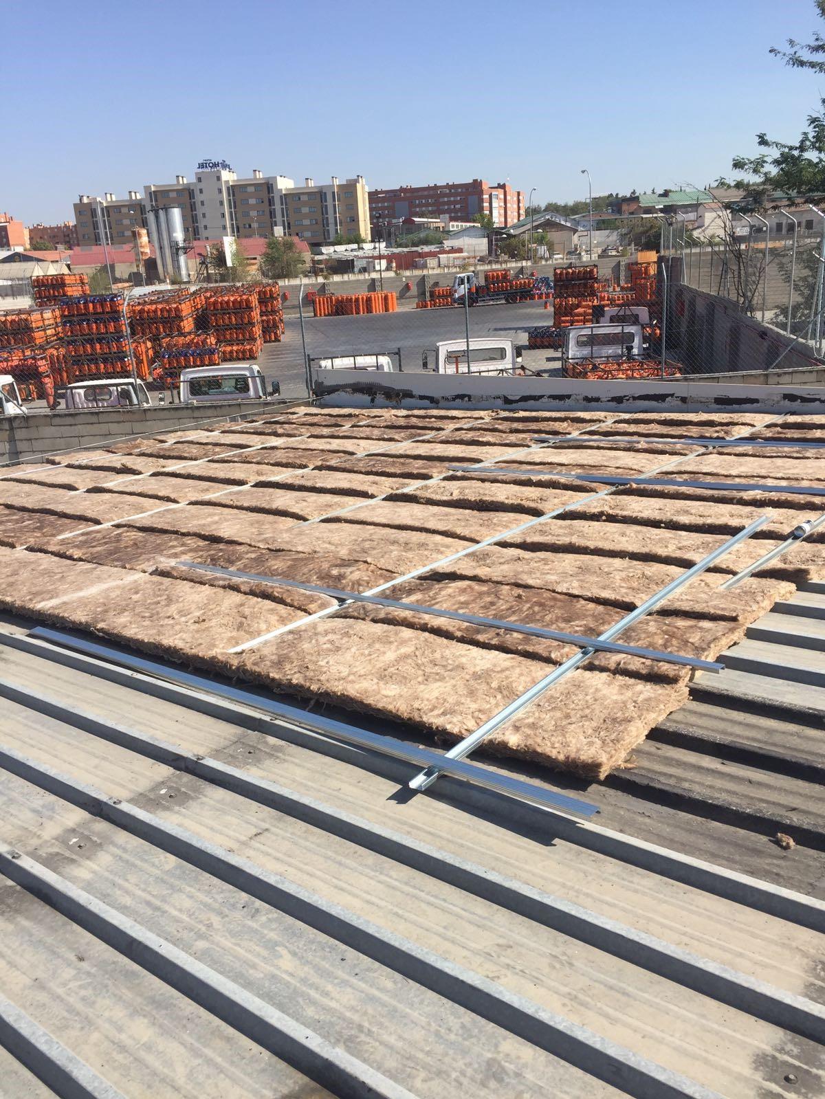 Tejados de chapa galvanizada y chapa trapezoidal precio for Chapas para tejados precios