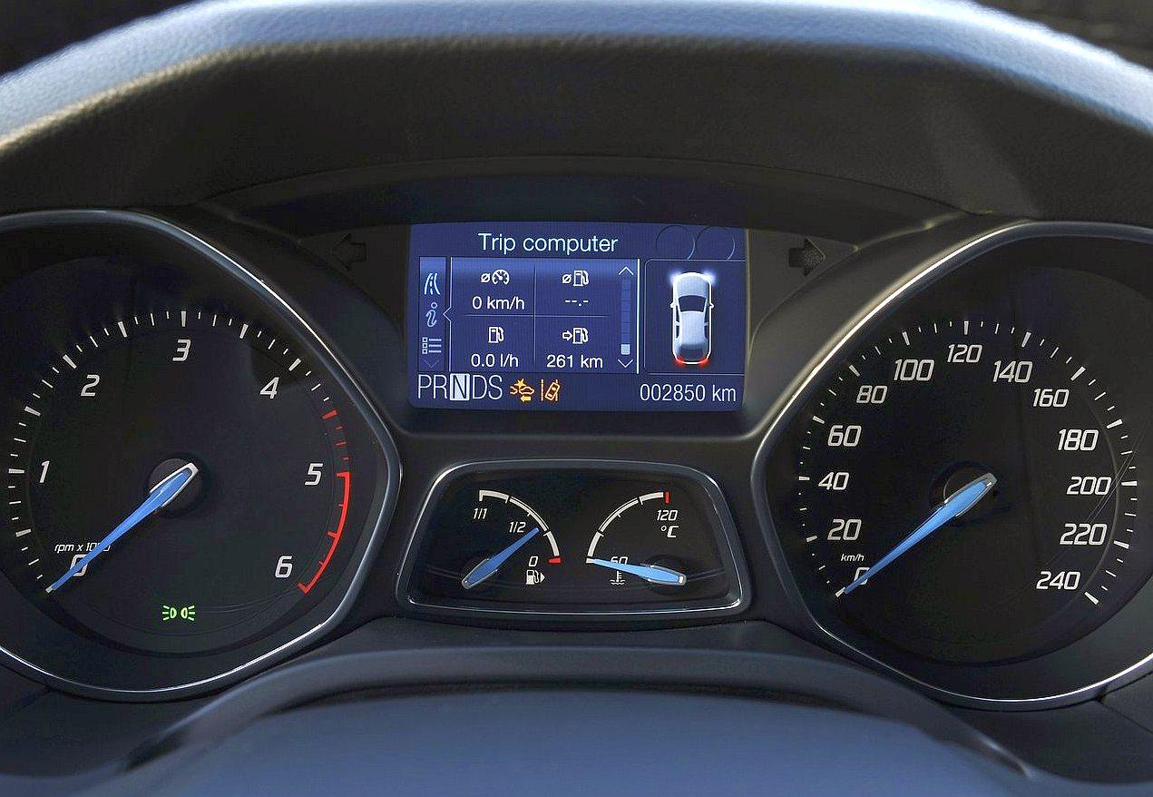 Cockpit Autom 243 Vel Conte 250 Dos Auto Ensaio Ford Focus 1 6