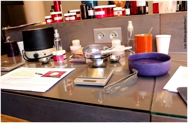 Atelier cosmétique maison - Aroma Zone - Les Mousquetettes©