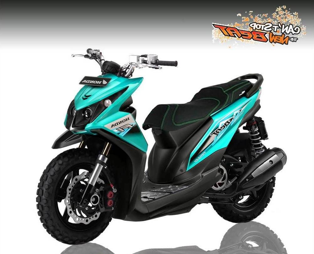 Kumpulan 23 Modifikasi Motor Honda Beat Street Esp Terkeren Term