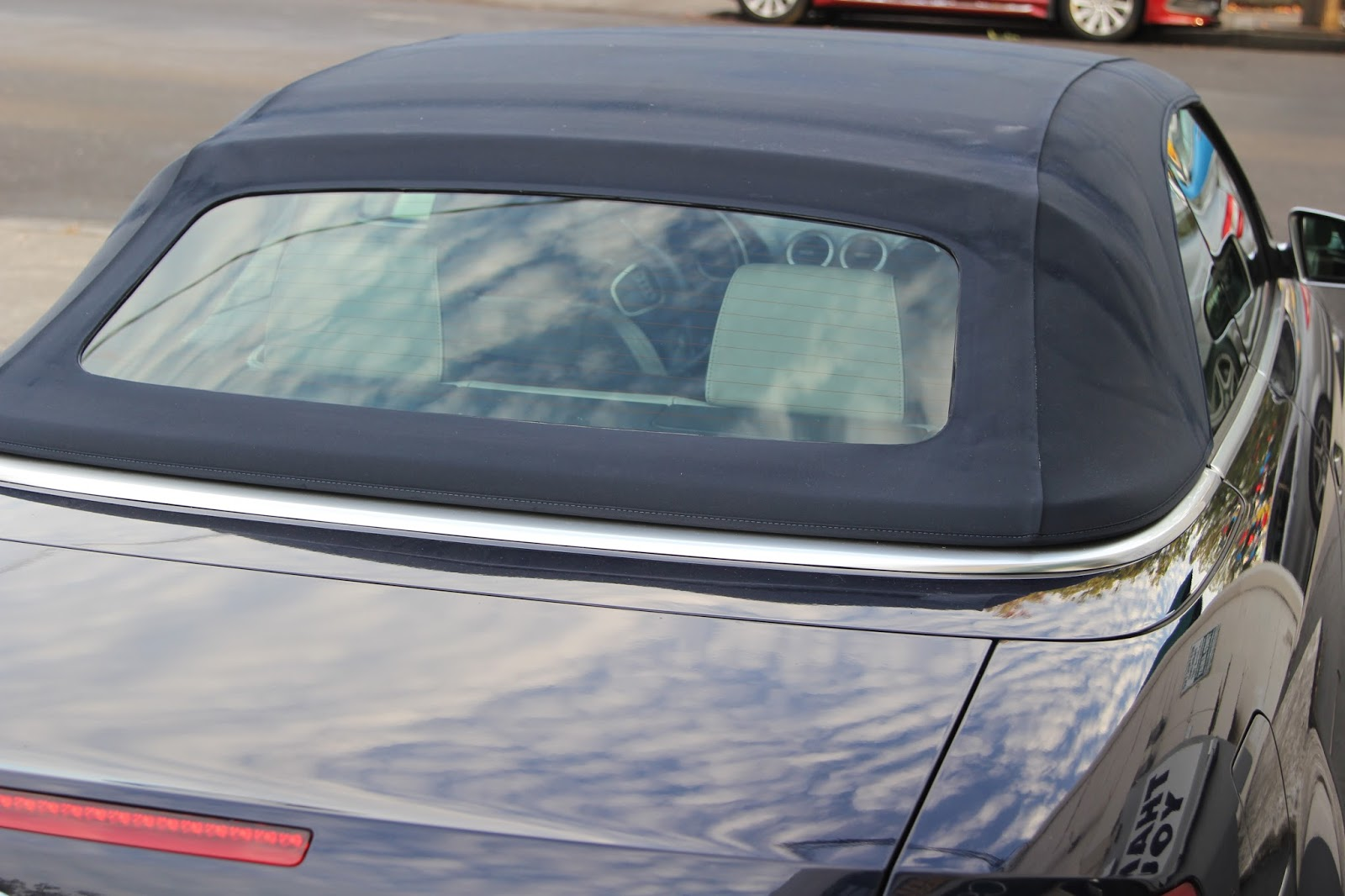 Audi Convertible Back Window Repair By Cooks Upholstery Redwood City 650 364 0923