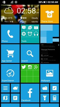Launcher 8 Windows Phone style Terbaru
