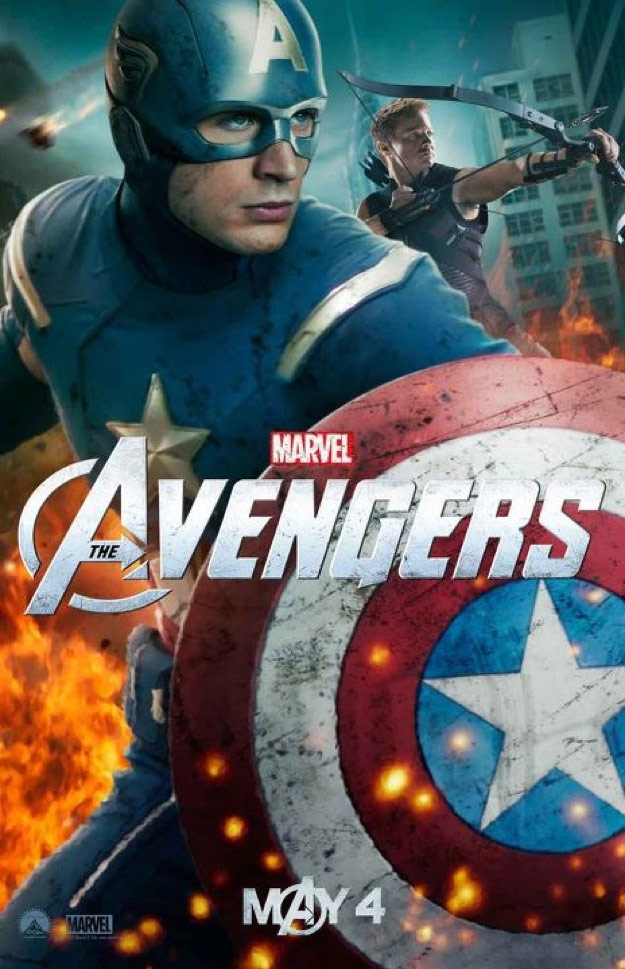 Celebrities, Movies and Games: The Avengers Movie Posters