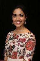 Ritu Varma smiling face Cream Anarkali dress at launch of OPPO New Selfie Camera F3 ~  Exclusive 042.JPG