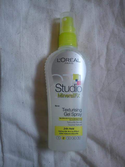 Gel Fluide Texturisant Cheveux - Studio Line Mineral FX - L'Oréal