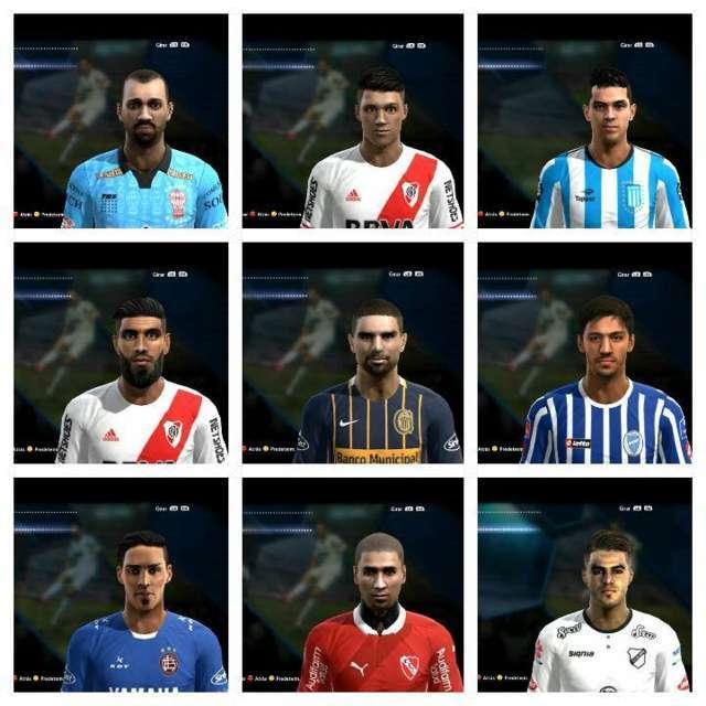 PES 2013 Argentino Facepack 2016