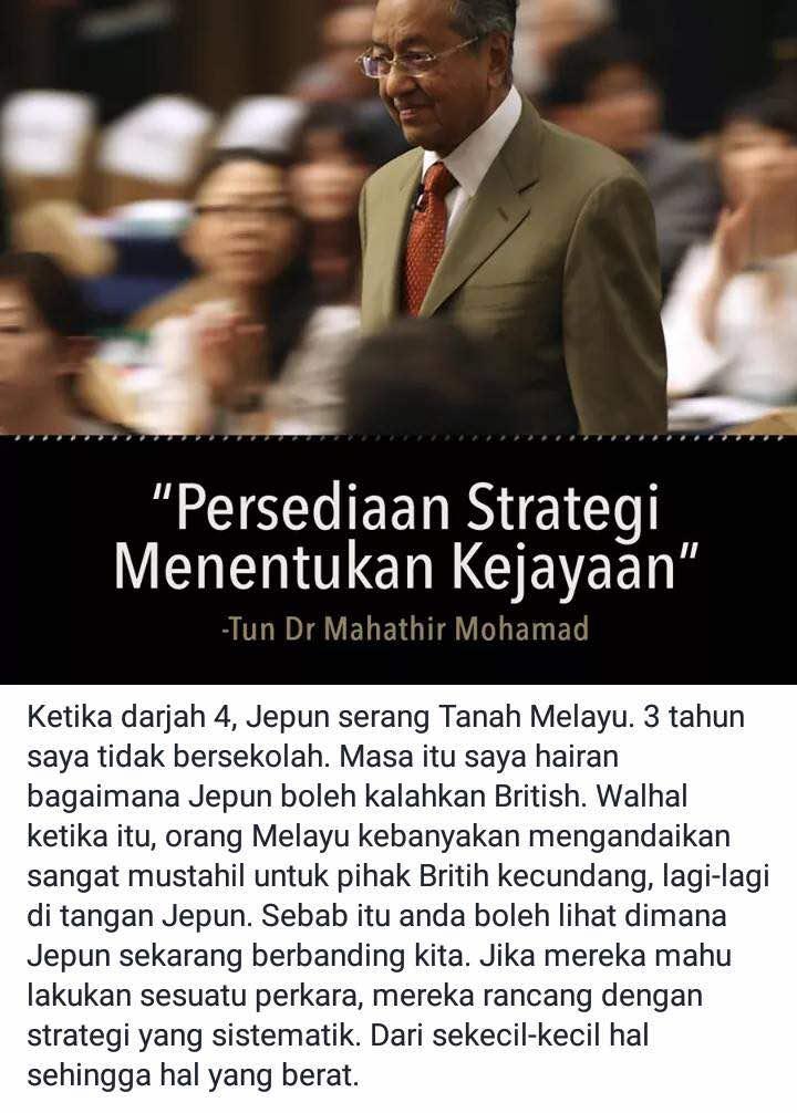 9 Nasihat Tun Dr Mahathir Untuk Kita Semua ~ Wordless Wednesday