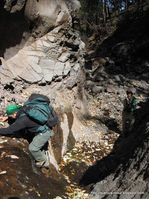Cerro Viejo - Escalando 2.5 metros