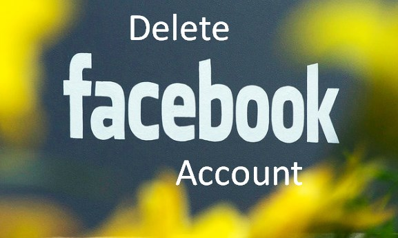 how to delete facebook account 2017
