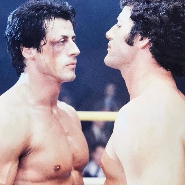 Sylvester Stallone Boxing his brother Frank the Tank, entertainment news