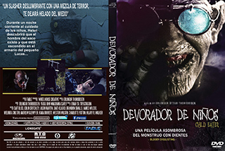 Child Eater - Devorador de Niños - Cover DVD