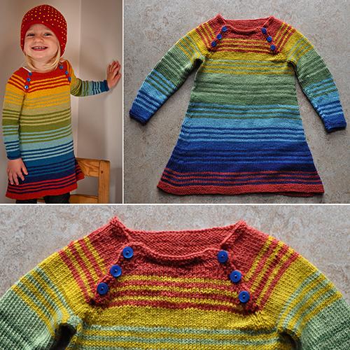 Stripy Dress - Free Pattern