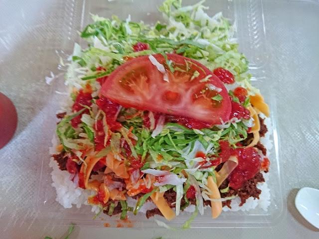 タコライスチーズ野菜の写真