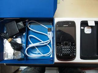 Nokia E6 Seken Eks Garansi Nokia Indonesia