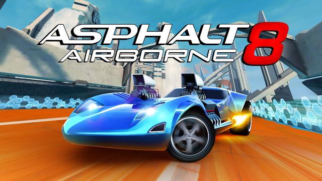 Download Asphalt 8 Airborne MOD Apk KickAss