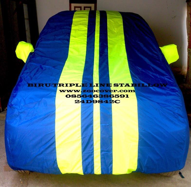 Jual Cover Mobil Semi Anti Air Murah Kombinasi Warna