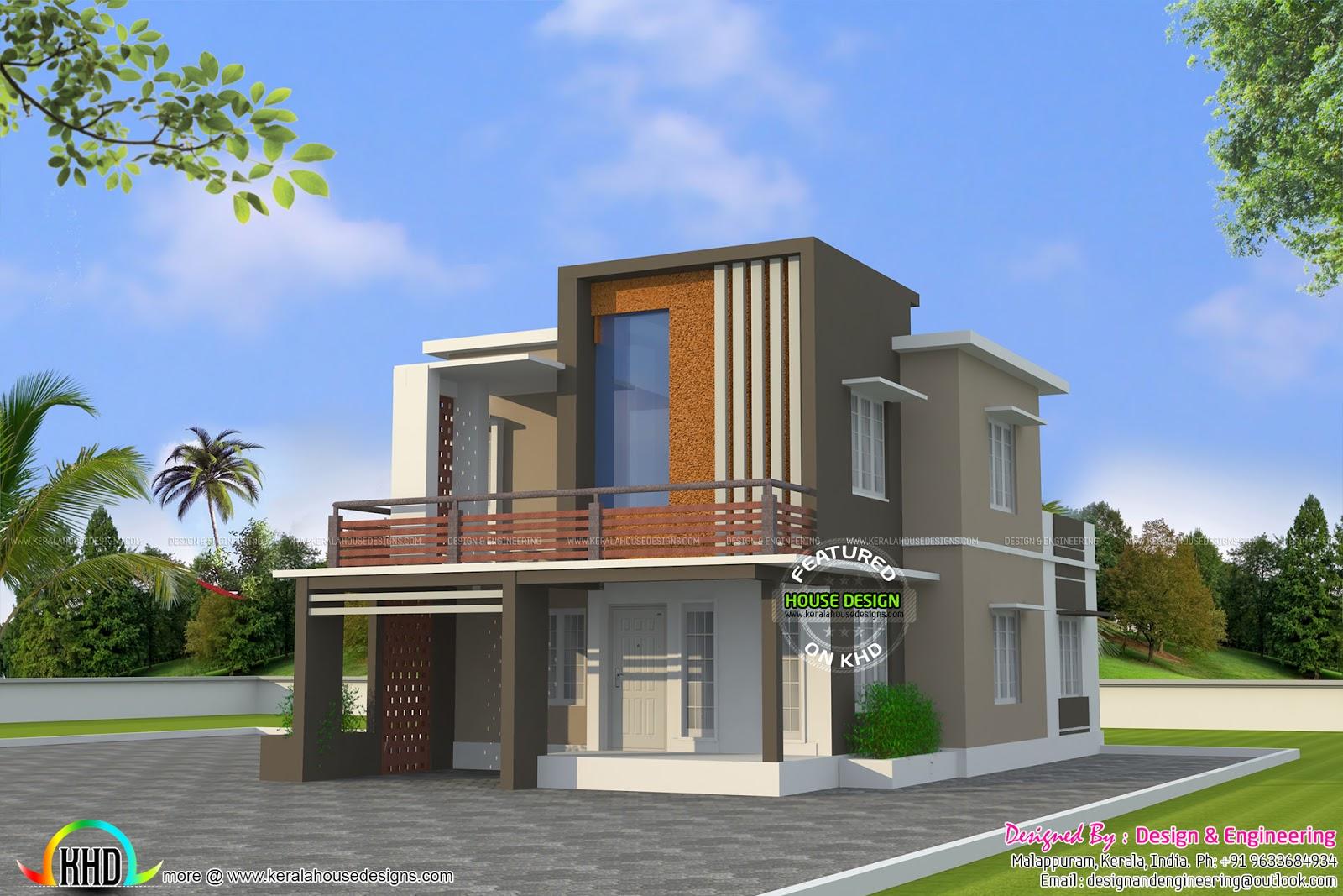 Zen Colors For Living Room Low Cost Double Floor Home Plan Kerala Home Design And