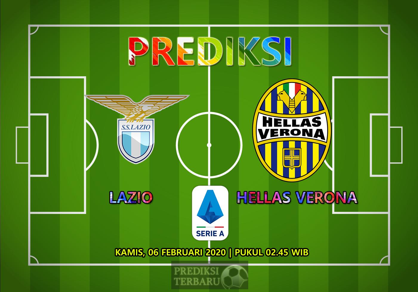 Prediksi Lazio Vs Hellas Verona 06 Februari