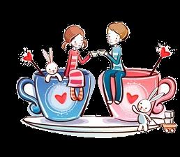 Desenhos chá de cozinha chá de panela formato Png