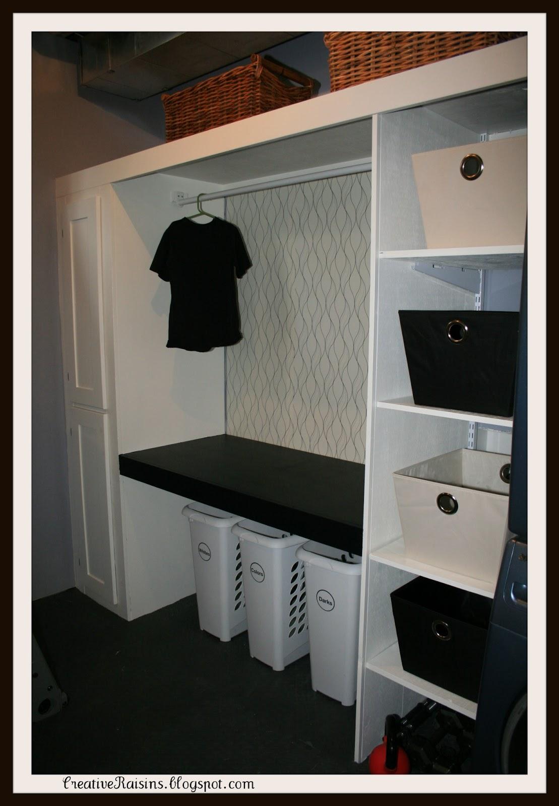 Creative Raisins Laundry Room Makeover
