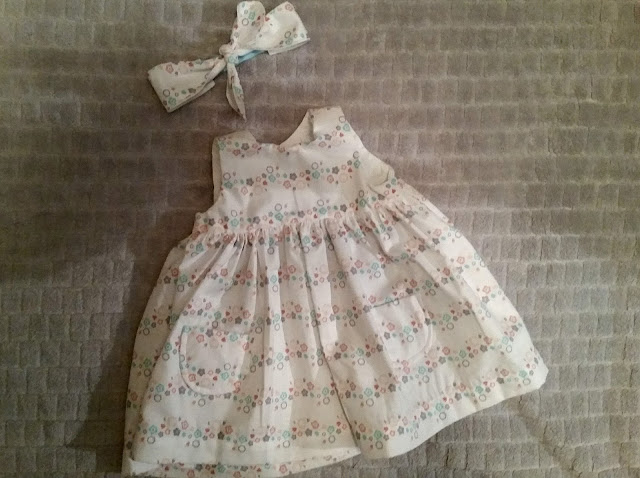 Handmade baby dress by linaandvi.com