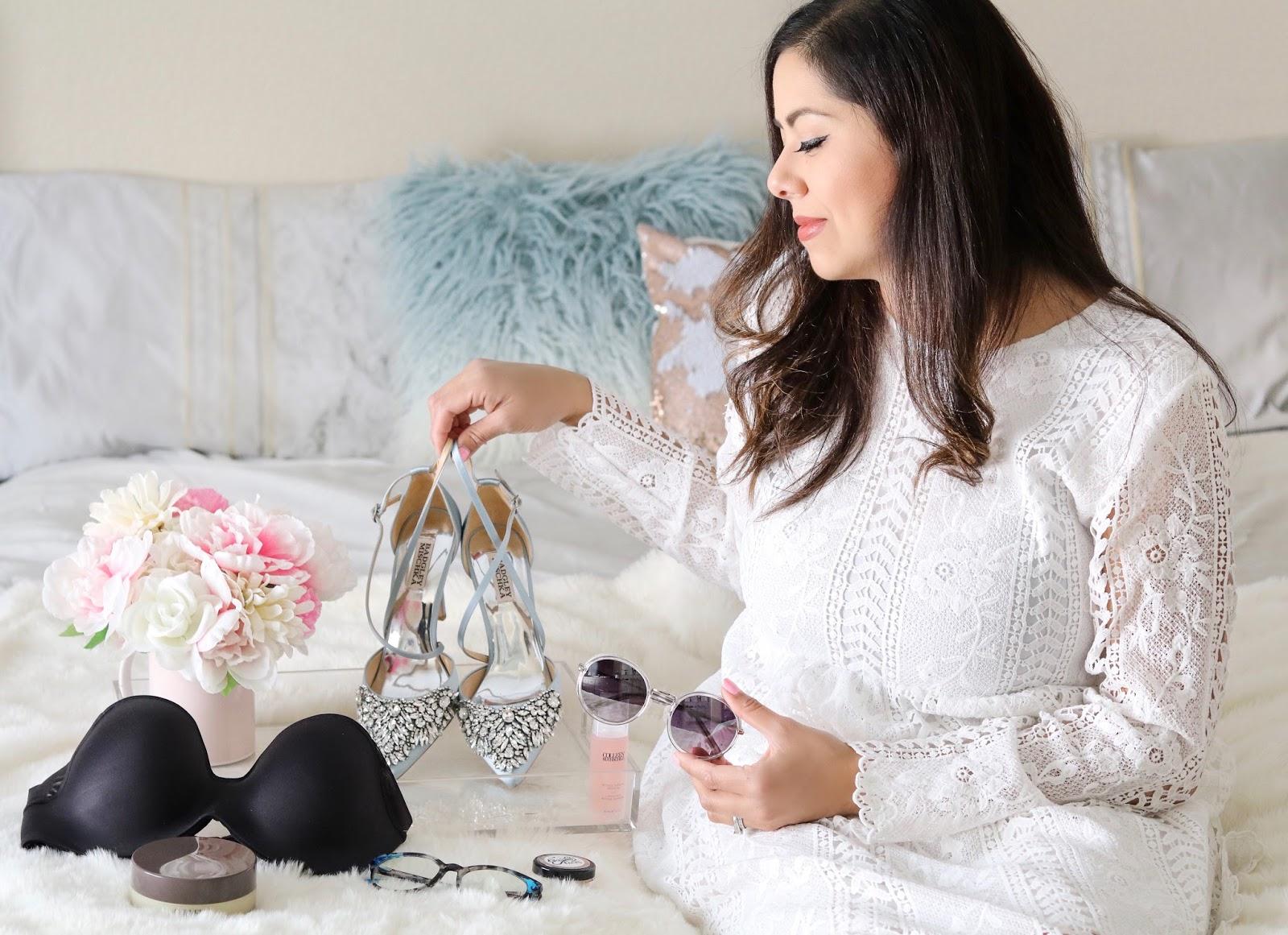 Badgley Mishcka heels, socal lifestyle blogger