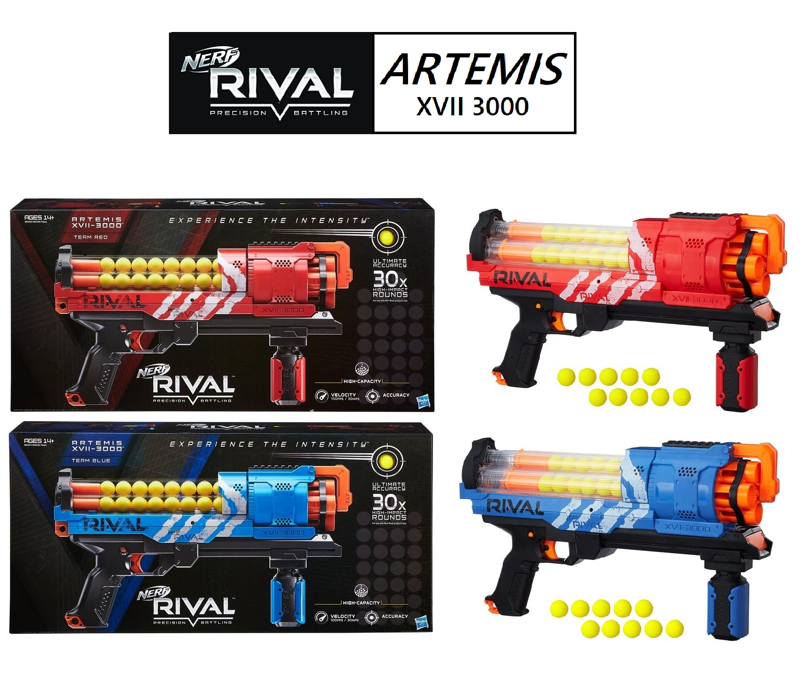 Huge news today in the NERF world A brand new RIVAL blaster called the ARTEMIS was spotted online available for pre order The pany advertising this is