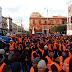 Bari Agricoltori in rivolta: contro il governo sfilano 3000 gilet arancioni