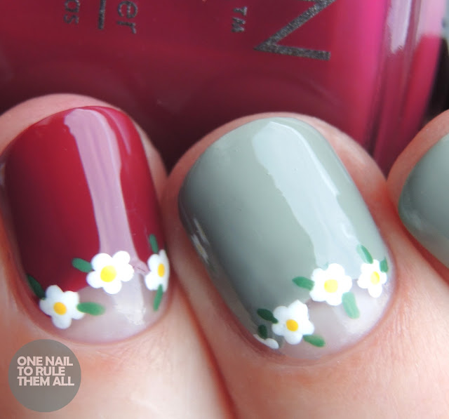 One Nail To Rule Them All: Morgan Taylor Floral Crowns
