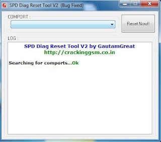 Download SPD Diag Reset Tool V2  BUG FIXED
