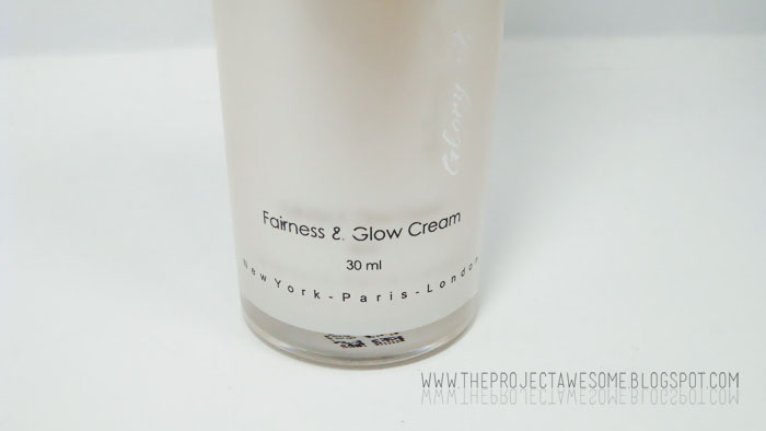 Fairness cream project