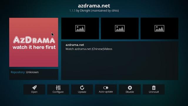 AZdrama-Kodi-addon